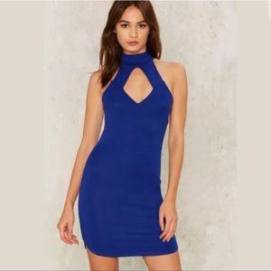 Nasty Gal | Blue Dress